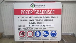 Gradbiščne table